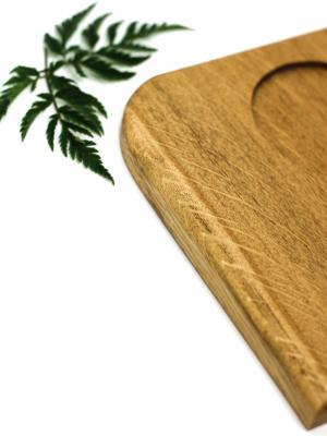 WoodHock Auszeit Holzuntersetzer