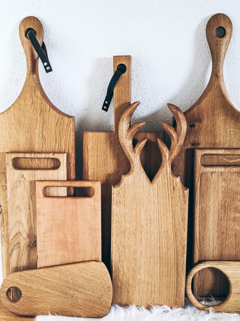 WoodHock Bretter Servierbretter Holzgeschenke Holzdesign