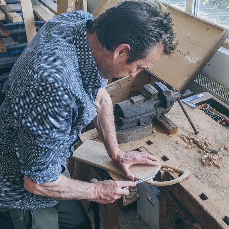 WoodHock Über Uns Handarbeit