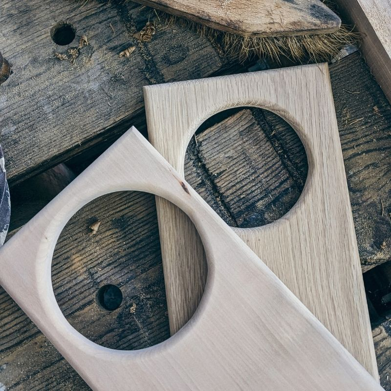 WoodHock Über Uns Handarbeit Holzbretter