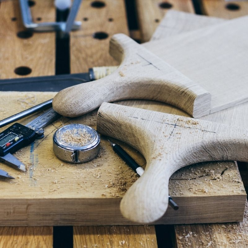 WoodHock Über Uns Handarbeit Servierbretter Holzbretter