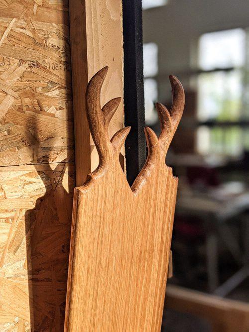 WoodHock Servierbrett Oh Deer mini