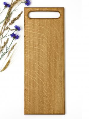 WoodHock Scandi Servierbrett Holz Eiche