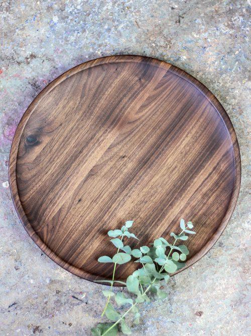 WoodHock Schale Tiefgang Eiche Holzschale Obstschale