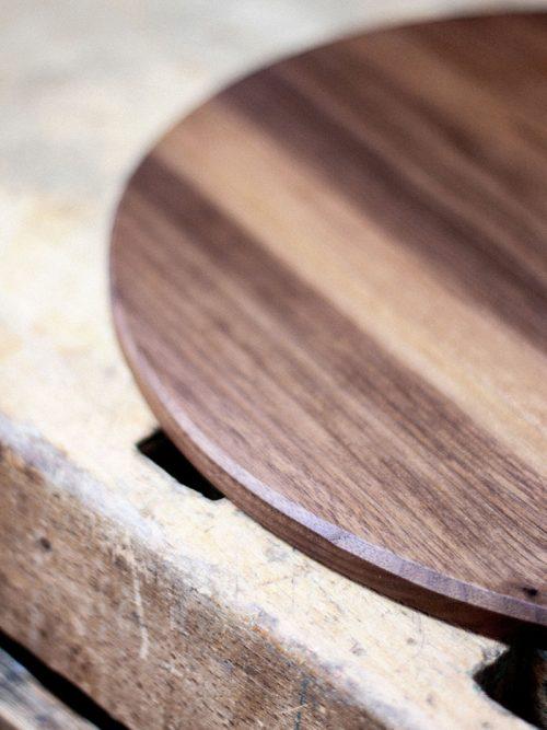 WoodHock Vollmond Pizzabrett Holz Holzplatte Kuchenplatte Handarbeit Schneidbretter