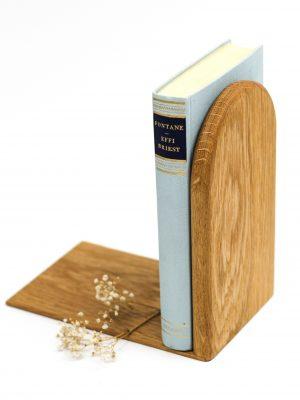 WoodHock starke Schulter Buchstütze Holz Eiche massiv Handarbeit